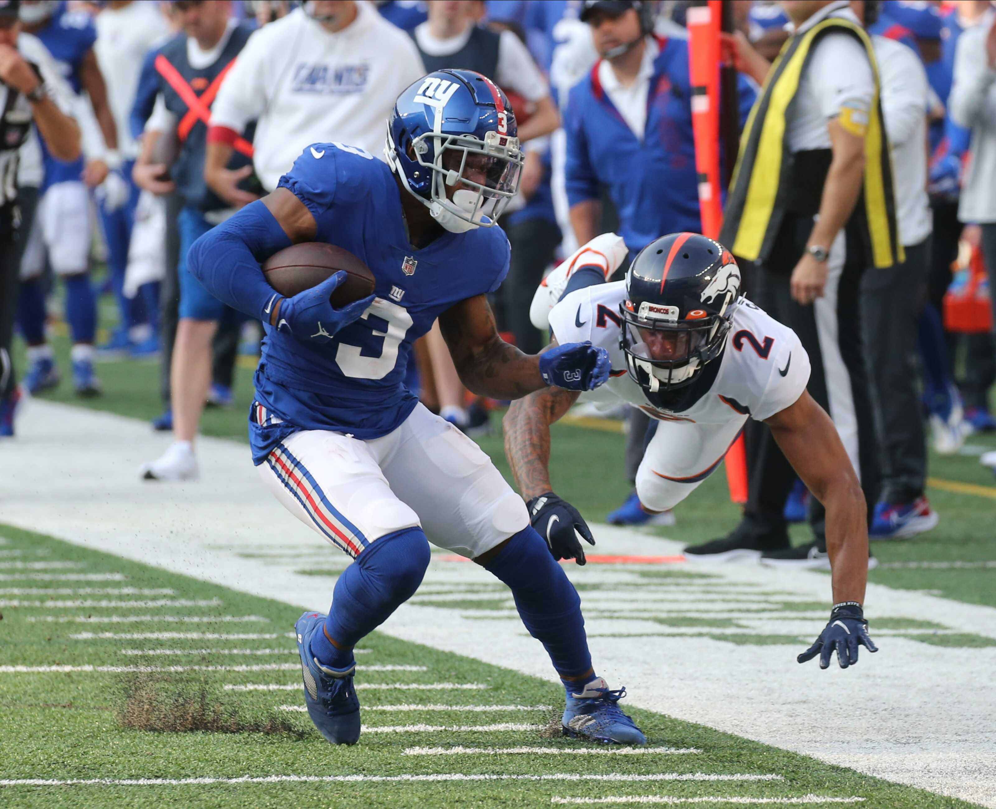 NY Giants studs and duds from loss to Broncos: Sterling Shepard alone can't carry offense